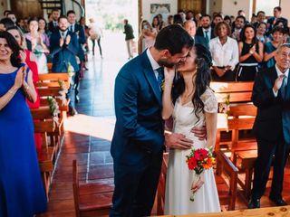 El matrimonio de Nebeska  y Francesc