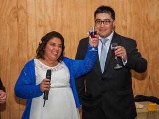 El matrimonio de Marcela y Óscar