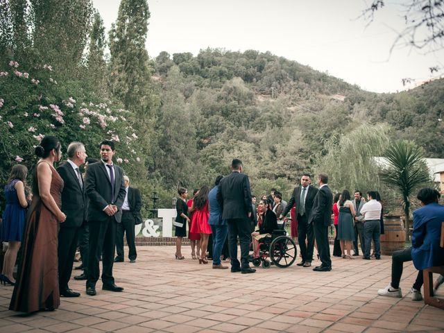 El matrimonio de Óscar y Tabita en San José de Maipo, Cordillera 7
