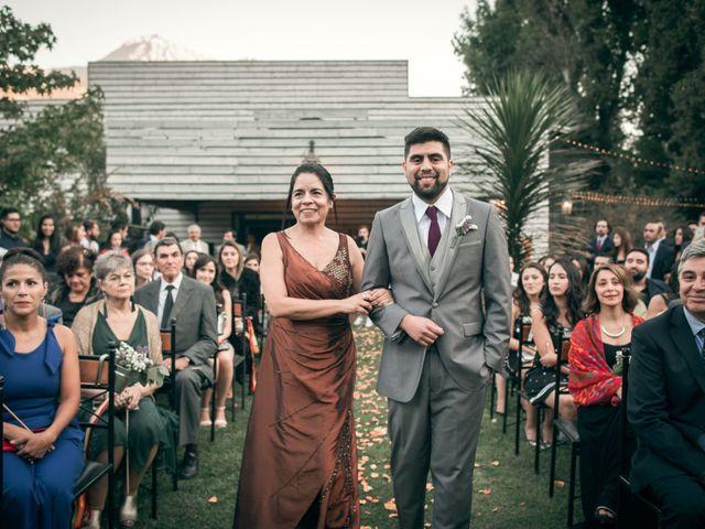 El matrimonio de Óscar y Tabita en San José de Maipo, Cordillera 11