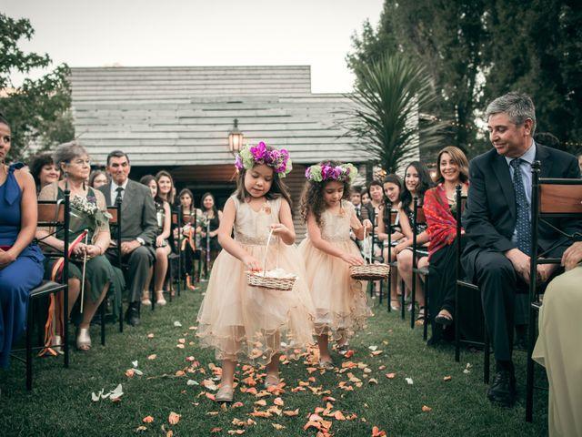 El matrimonio de Óscar y Tabita en San José de Maipo, Cordillera 12