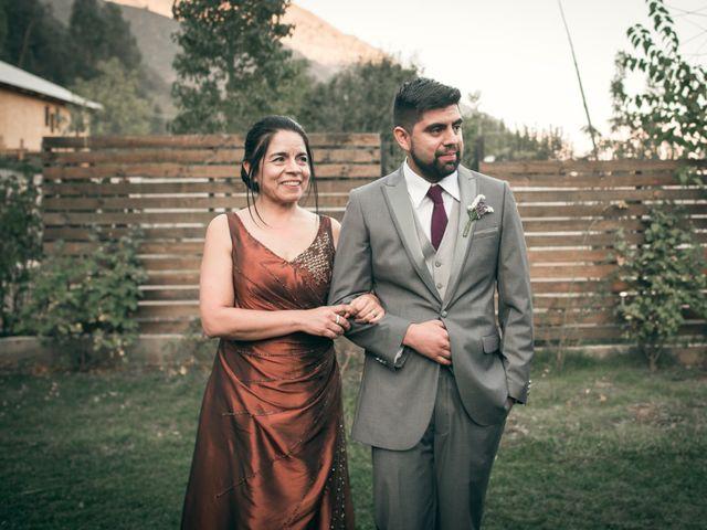 El matrimonio de Óscar y Tabita en San José de Maipo, Cordillera 14