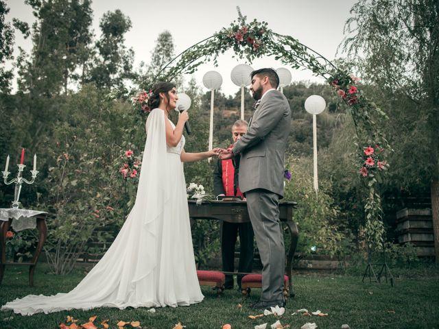 El matrimonio de Óscar y Tabita en San José de Maipo, Cordillera 18