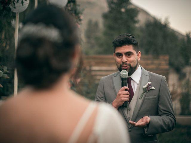 El matrimonio de Óscar y Tabita en San José de Maipo, Cordillera 20
