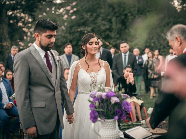 El matrimonio de Óscar y Tabita en San José de Maipo, Cordillera 21