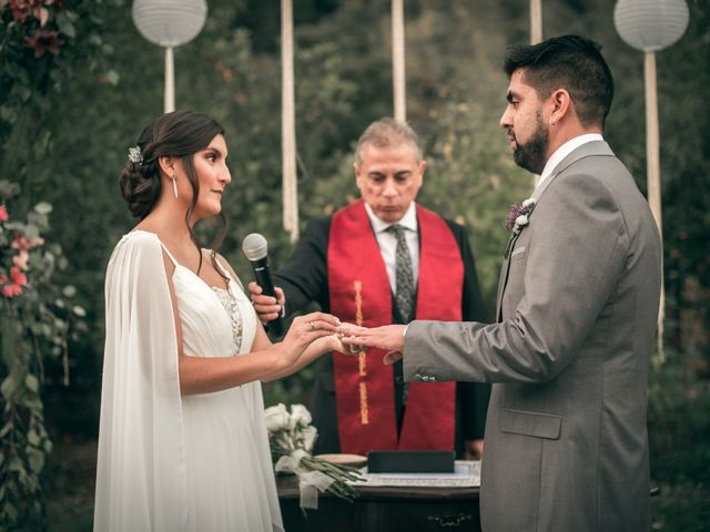 El matrimonio de Óscar y Tabita en San José de Maipo, Cordillera 22