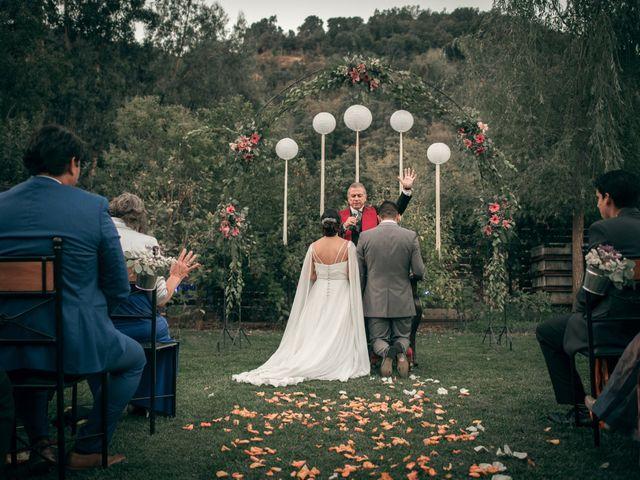 El matrimonio de Óscar y Tabita en San José de Maipo, Cordillera 24