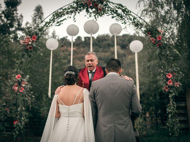 El matrimonio de Óscar y Tabita en San José de Maipo, Cordillera 25