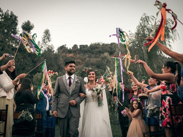 El matrimonio de Óscar y Tabita en San José de Maipo, Cordillera 28