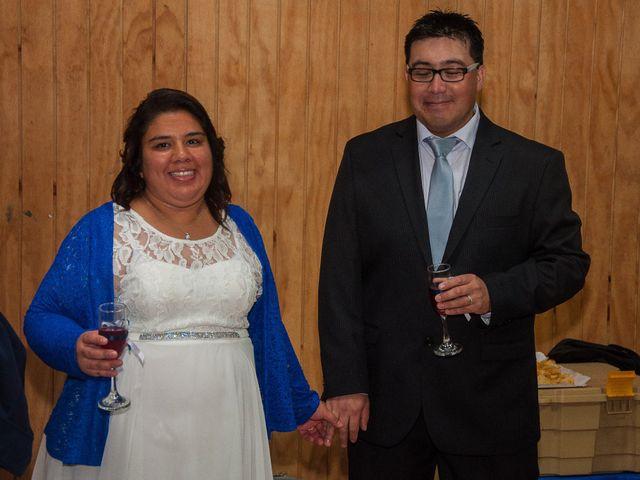 El matrimonio de Óscar y Marcela en Sagrada Familia, Curicó 39
