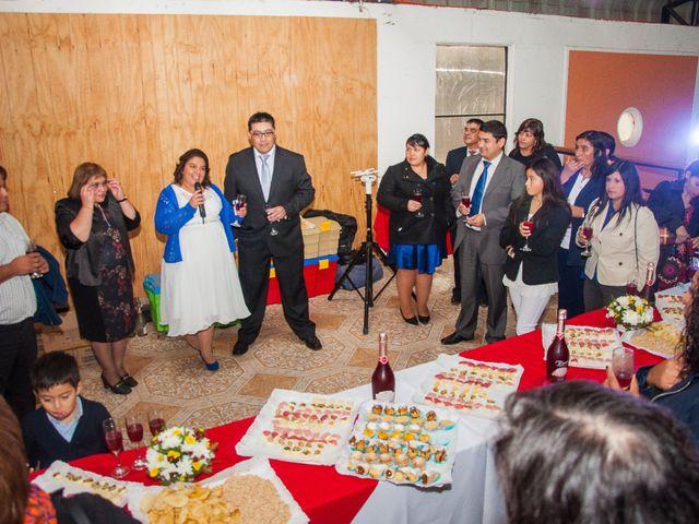El matrimonio de Óscar y Marcela en Sagrada Familia, Curicó 40