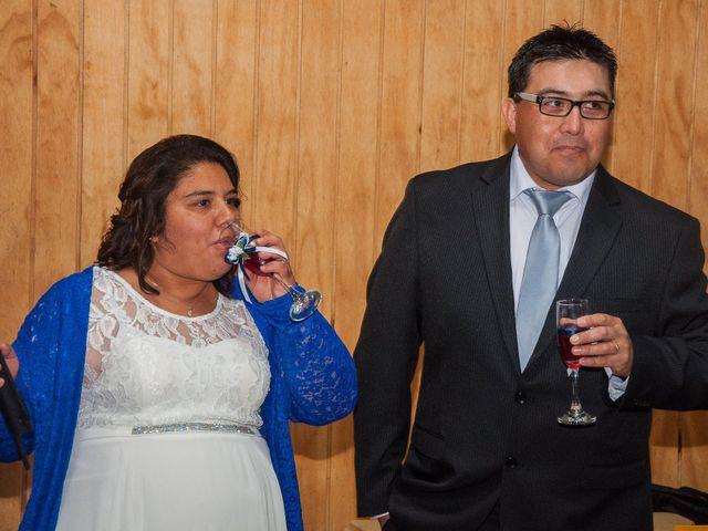 El matrimonio de Óscar y Marcela en Sagrada Familia, Curicó 42