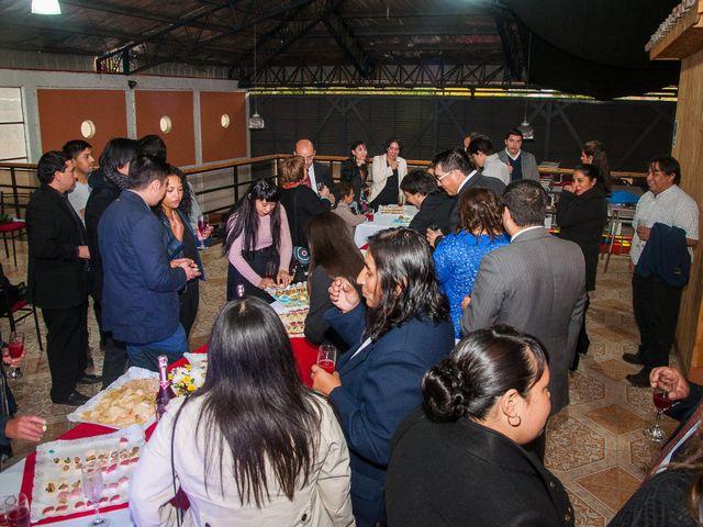 El matrimonio de Óscar y Marcela en Sagrada Familia, Curicó 45