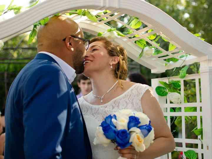 El matrimonio de Rosy y Michael