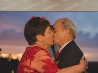 El matrimonio de Iris y Domingo