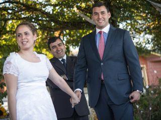 El matrimonio de Sara y Francisco