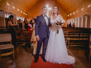 El matrimonio de Carla y Cristian