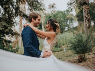 El matrimonio de Daniela y Stavros 1