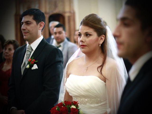 El matrimonio de María José y Iván