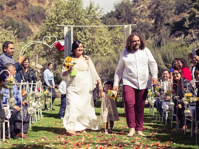 El matrimonio de Miguel y Karen en Pirque, Cordillera 27