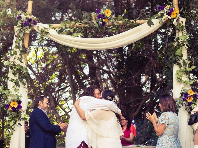 El matrimonio de Miguel y Karen en Pirque, Cordillera 43