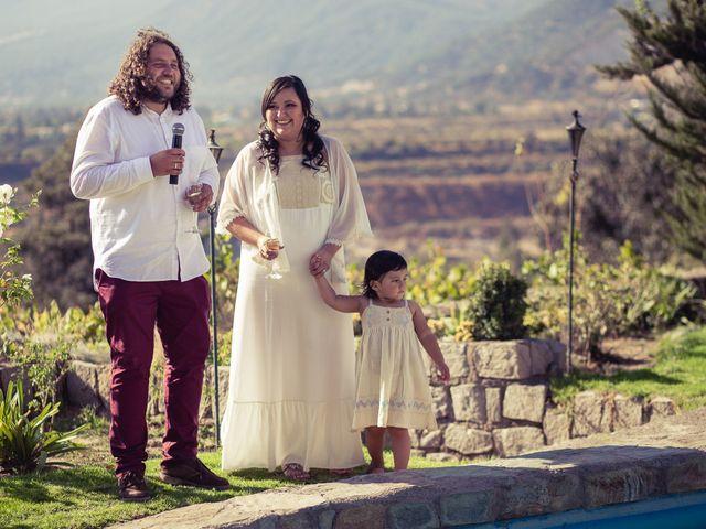 El matrimonio de Miguel y Karen en Pirque, Cordillera 46