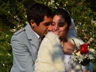El matrimonio de María  y Bruno