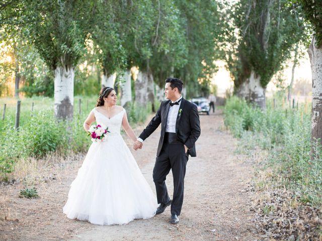 El matrimonio de Daniela y Matías