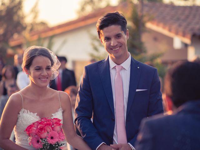 El matrimonio de Carlos y Daniela