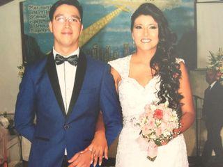 El matrimonio de Tania y Alan