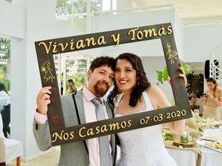 El matrimonio de Viviana y Tomás