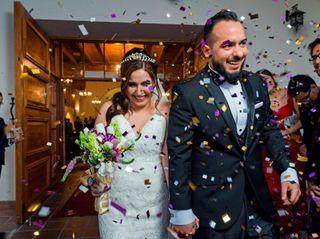 El matrimonio de Montserrat y César