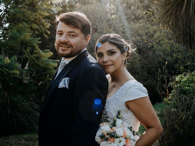 El matrimonio de Marsella y Cristofer