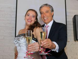 El matrimonio de Solange y Luis