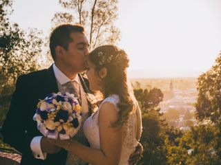 El matrimonio de Belen y Rene