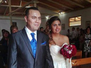 El matrimonio de Catalina de las Mercedes   y Nicolás Andrés
