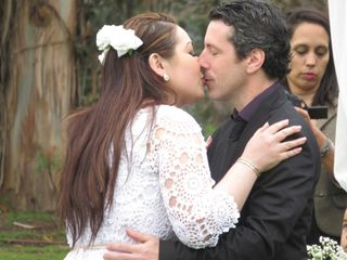 El matrimonio de Charlotte y Hernán