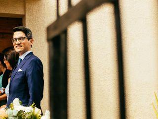 El matrimonio de Eric  y Paulina 2