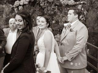 El matrimonio de Lorena y Gustavo 3