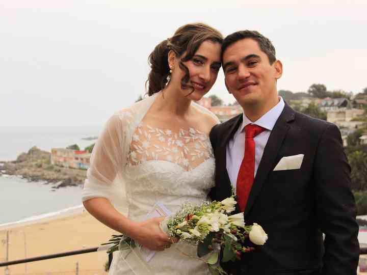 El matrimonio de Consuelo y Franco