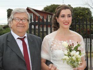 El matrimonio de Consuelo y Franco 1