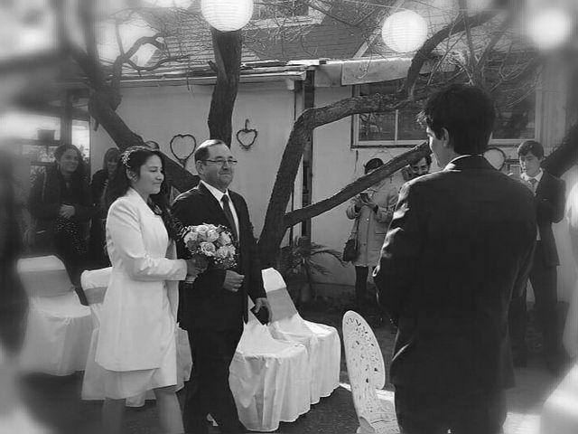 El matrimonio de Esteban  y Yeng Quin en La Florida, Santiago 1