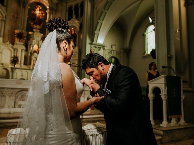El matrimonio de Zarabia y Marcelo