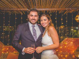 El matrimonio de Ivania y Gonzalo