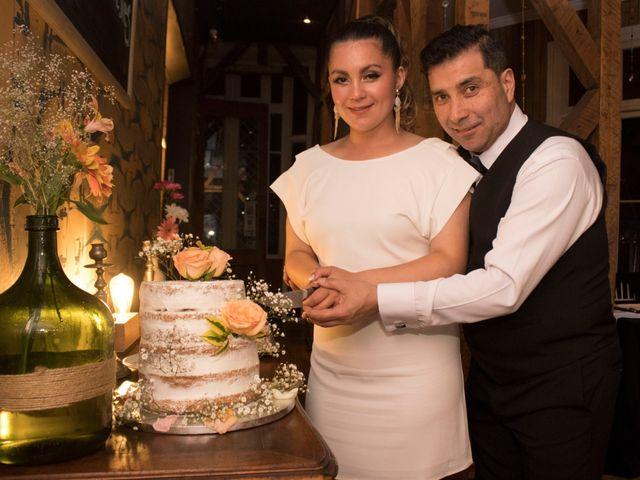 El matrimonio de Antonella y Óscar