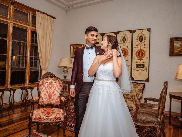 El matrimonio de Consuelo y Claudio
