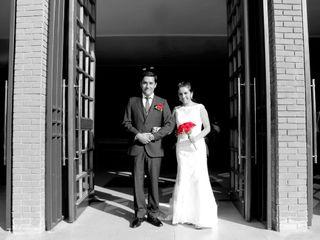 El matrimonio de Leticia y Javier