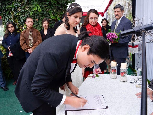 El matrimonio de Juan y Claudia en La Florida, Santiago 17