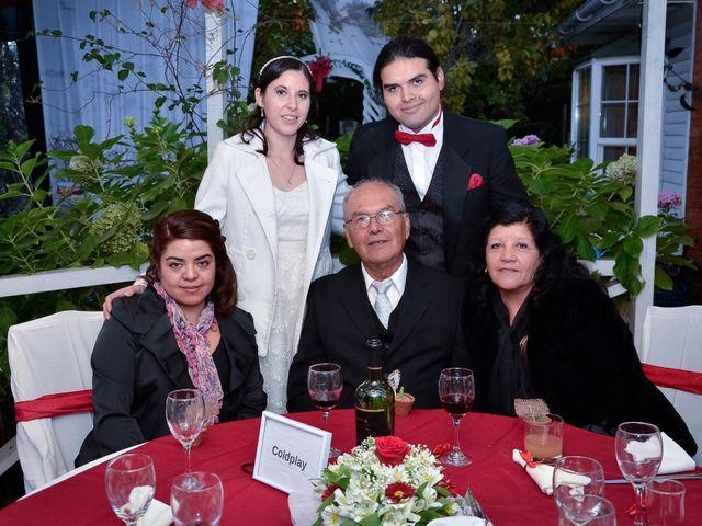 El matrimonio de Juan y Claudia en La Florida, Santiago 35