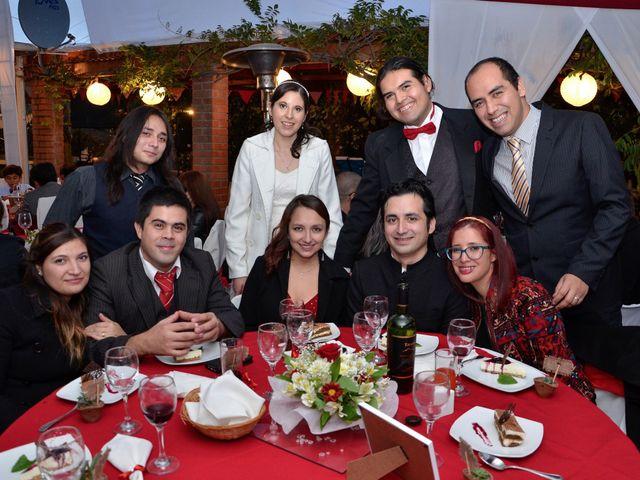 El matrimonio de Juan y Claudia en La Florida, Santiago 36